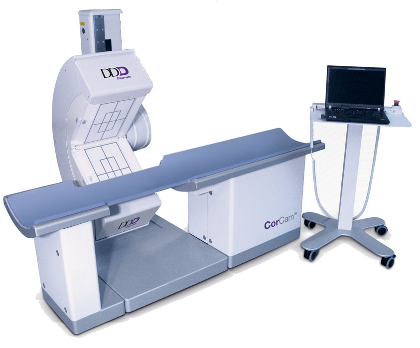 CorCam Gamma Camera from DDD